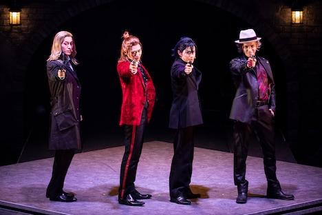 舞台「劇団シャイニング from うたの☆プリンスさまっ♪『JOKER TRAP』」公開ゲネプロより。