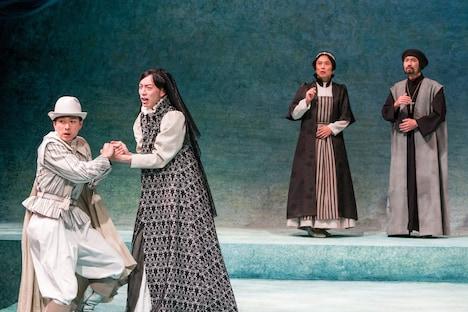 ステージナタリー            オールメールで挑む、安西徹雄訳の演劇集団 円「十二夜」開幕