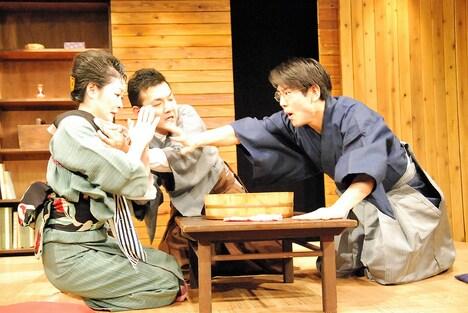 温泉ドラゴン 第11回公演「嗚呼、萬朝報!」より。