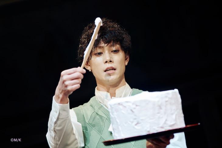舞台「若様組まいる~アイスクリン強し~」より、玉城裕規演じる皆川真次郎。