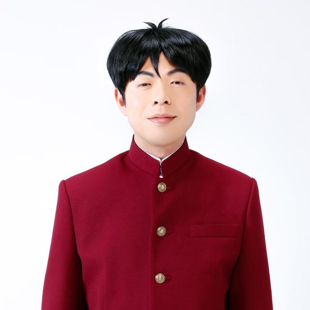 2017年上演の舞台「ハイスクール!奇面組」より、高木晋哉(ジョイマン)扮する大間仁。