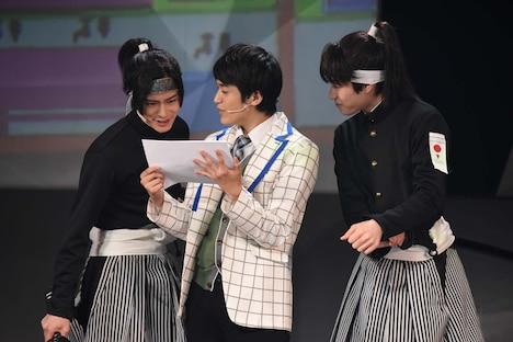 男劇団 青山表参道X「SHIRO TORA~beyond the time~」フォトコールより。