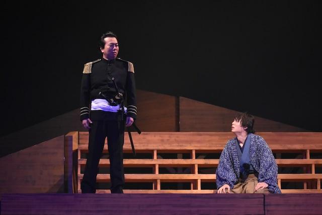 舞台「ジョン万次郎」ゲネプロより。