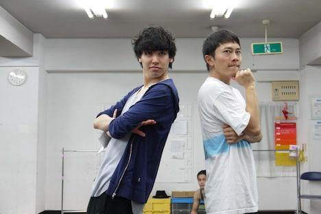 左から法月康平、和田泰右。