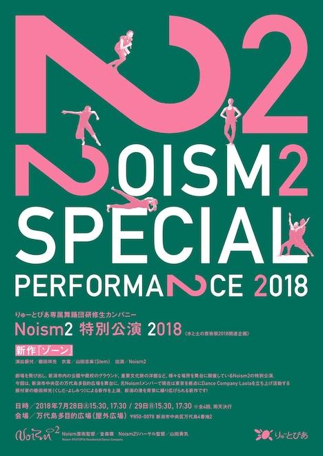 Noism2 特別公演2018「ゾーン」チラシビジュアル