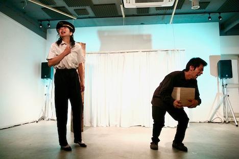 昇悟と純子「Last Scene」より。(撮影:明田川志保)