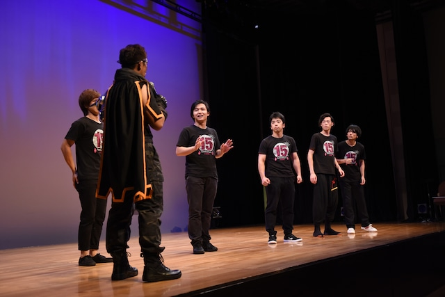 「Acrobat Stage『Infini-T Force』衣装お披露目イベント」より。