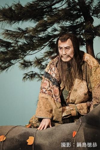 中村吉右衛門演じる俊寛僧都。(撮影:鍋島徳恭)