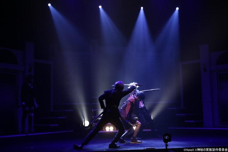 舞台「アルカナ・ファミリア Episode4 アルカナ・デュエロ」より。(撮影:吉岡晋)