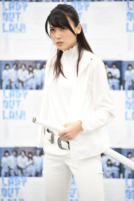 「LADY OUT LAW!」公開稽古より。