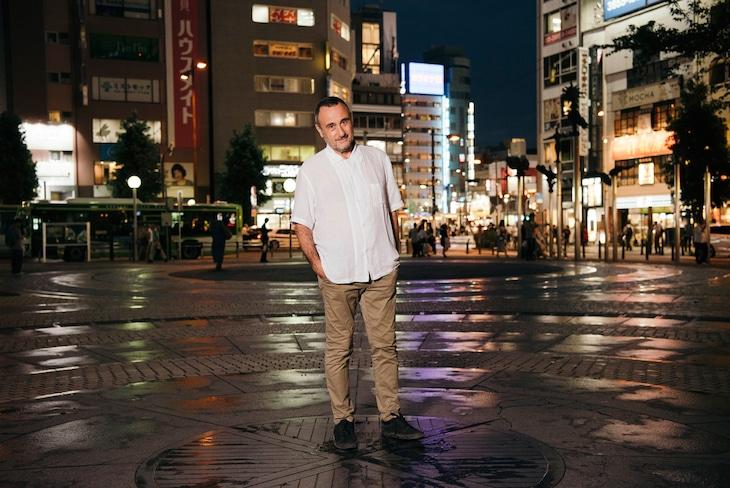 「野外劇 三文オペラ」演出のジョルジオ・バルベリオ・コルセッティ。(Photo by Kazuomi FURUYA)