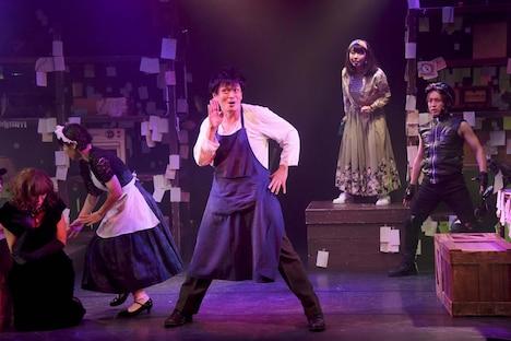「少年社中20周年記念第三弾 第35回公演『機械城奇譚』」ゲネプロより。