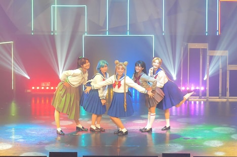"""「""""Pretty Guardian Sailor Moon"""" The Super Live」▼キャストのゲネプロより。"""