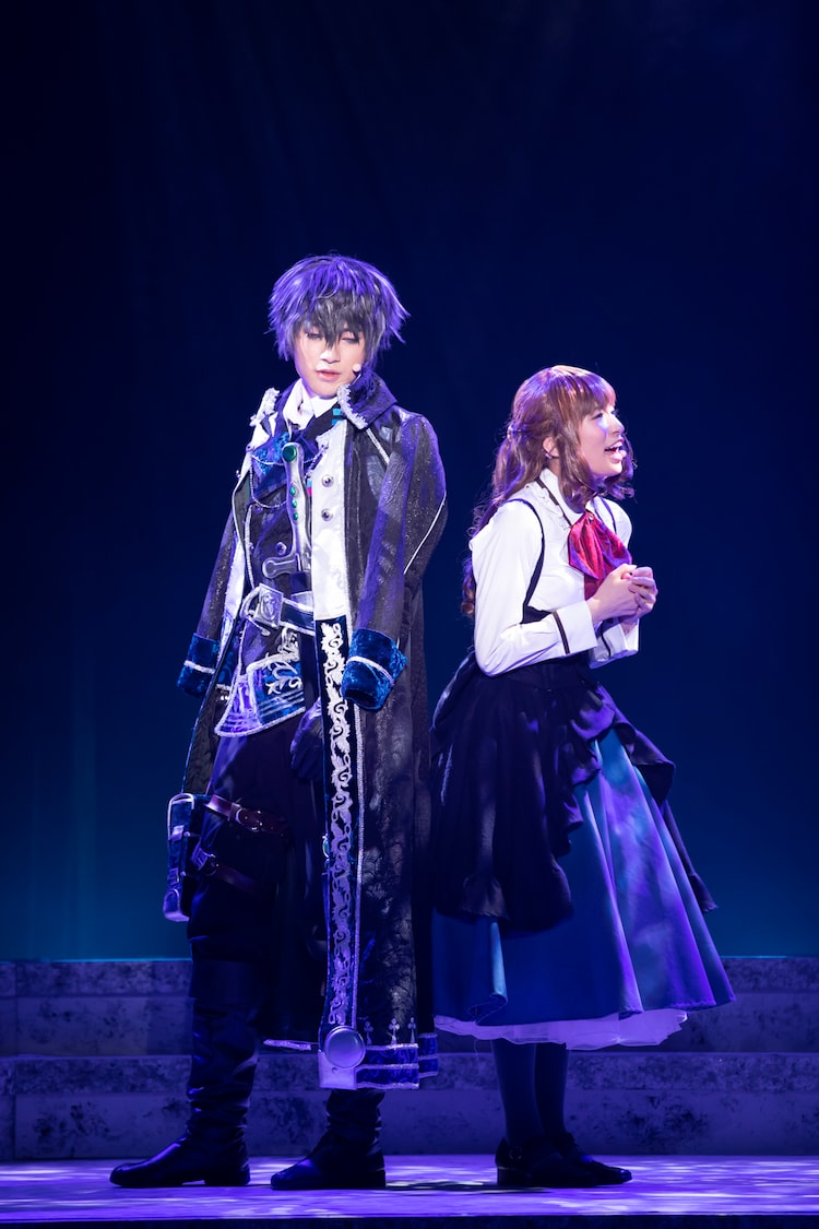 「イケメン革命◆アリスと恋の魔法 THE STAGE Episode 黒のキング レイ=ブラックウェル」より。