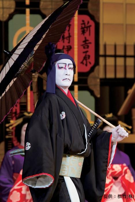片岡仁左衛門演じる花川戸助六。(2009年 京都・京都四條 南座)