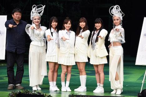 PARCO Production「ドゥ・ユ・ワナ・ダンス?」初日前会見より。