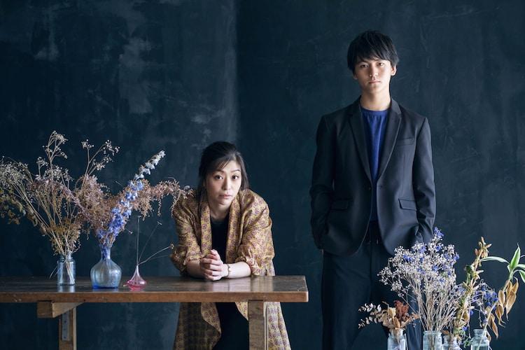 左から内田慈、田川隼嗣。(撮影:吉次史成)