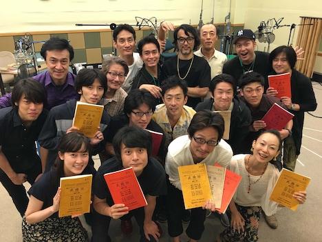 NHK-FM「青春アドベンチャー『武揚伝』」の出演者たち。(写真提供:NHK)