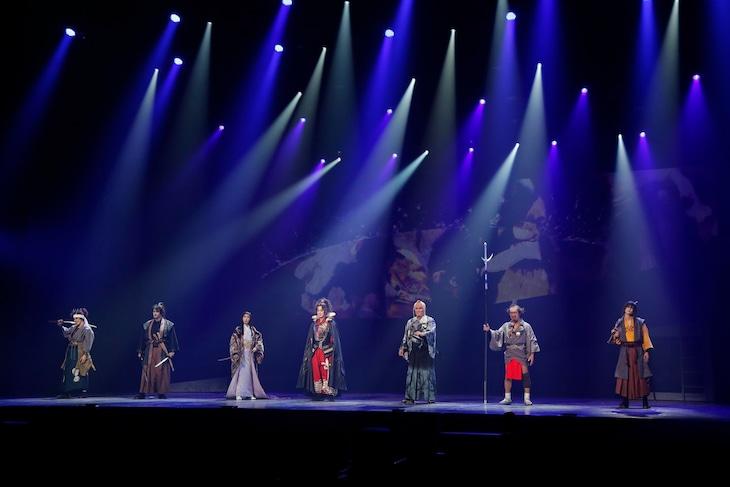 日本テレビ開局65年記念舞台「魔界転生」公開ゲネプロより。