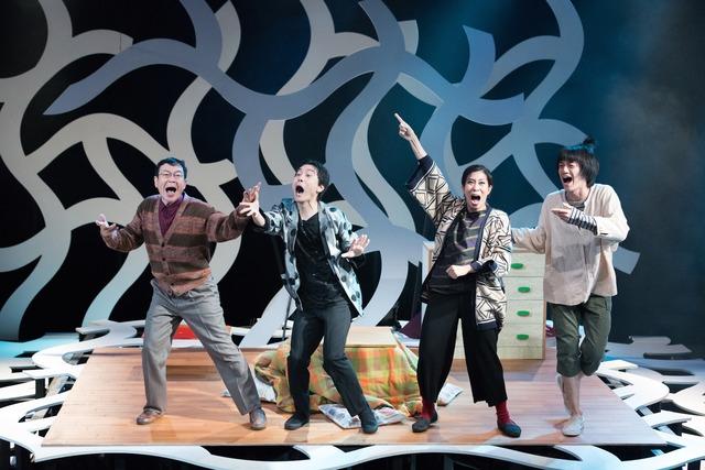 木ノ下歌舞伎「心中天の網島ー2017リクリエーション版ー」より。(c)Takuya Matsumi