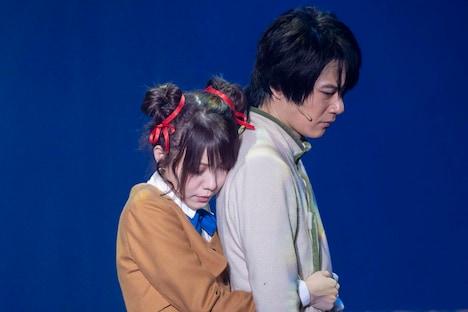 ミュージカル「ふしぎ遊戯-蒼ノ章-」公開ゲネプロより。