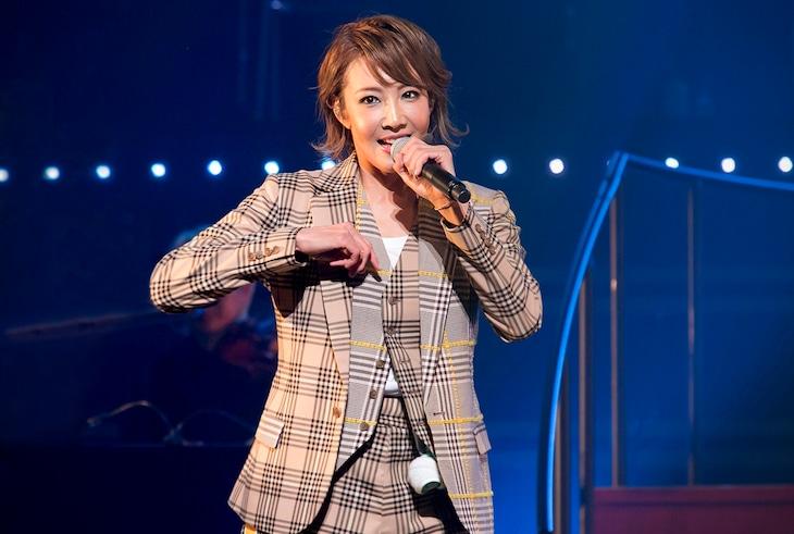 柚希礼音ソロコンサート「REON JACK3」フォトコールより。