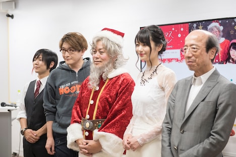 ミュージカル「クリスマスキャロル」製作発表会見より。
