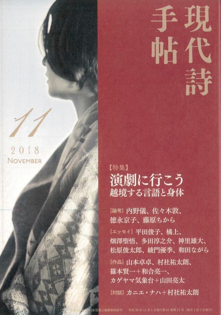「現代詩手帖」11月号(思潮社)