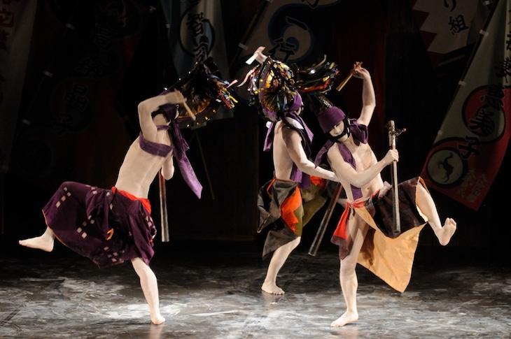 大駱駝艦 舞踏公演「おじょう藤九郎さま」過去の上演より。