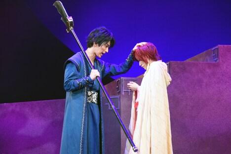 舞台「暁のヨナ~緋色の宿命編~」公開ゲネプロより。