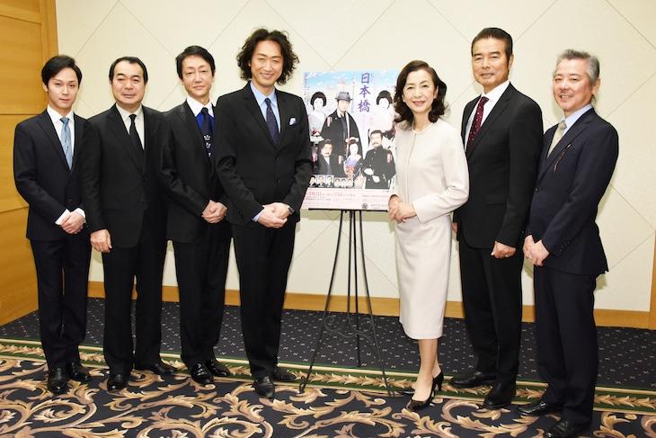 初春花形新派公演「日本橋」取材会より。