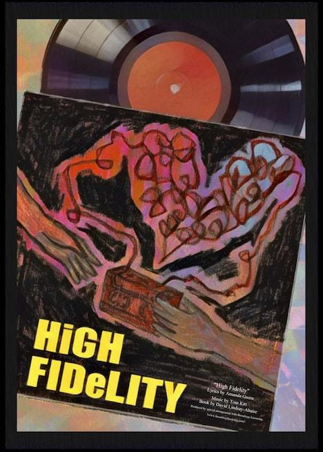 TipTap ワークショップリーディング公演「ブロードウェイミュージカル『High Fidelity』」チラシ
