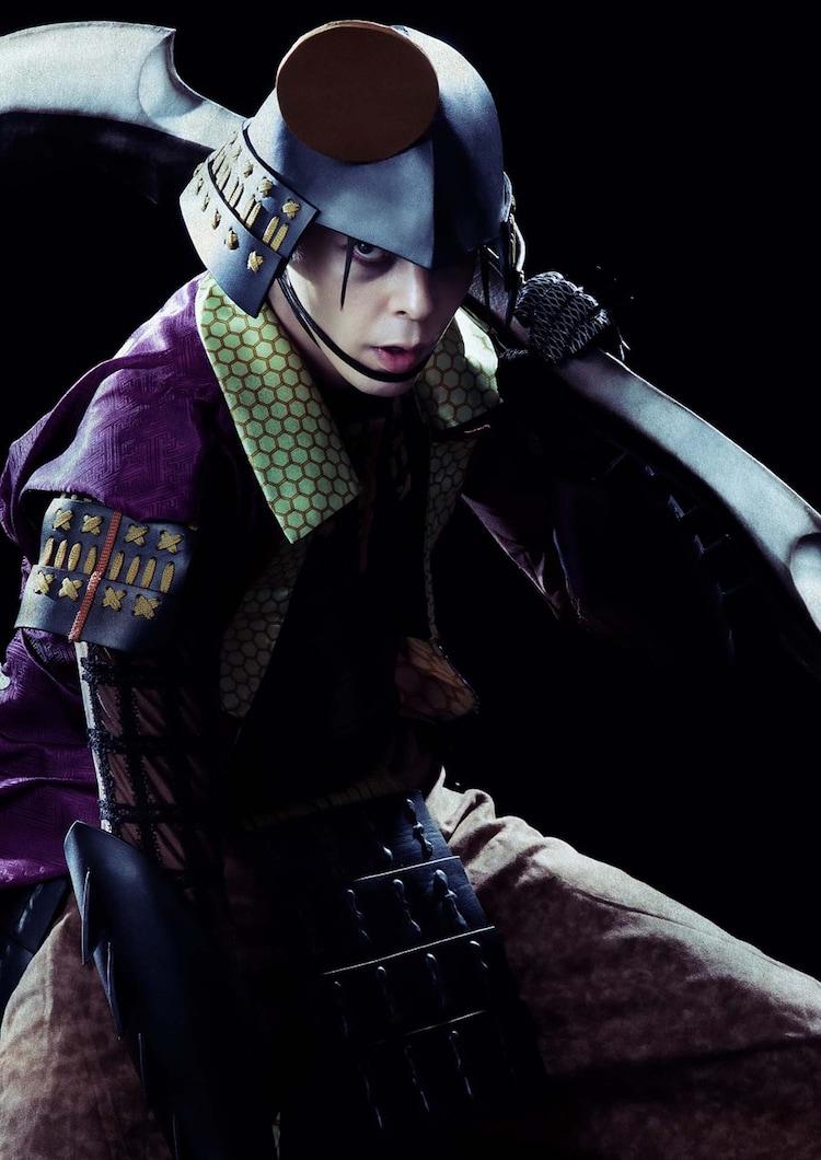 汐崎アイル扮する後藤又兵衛。