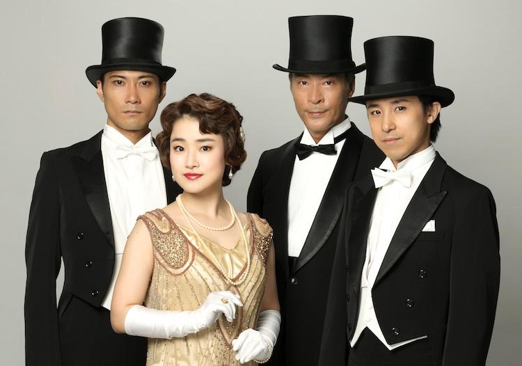 イッツフォーリーズ「ミュージカル『YOSHIKO~悔いなき命を~』」のキャスト。