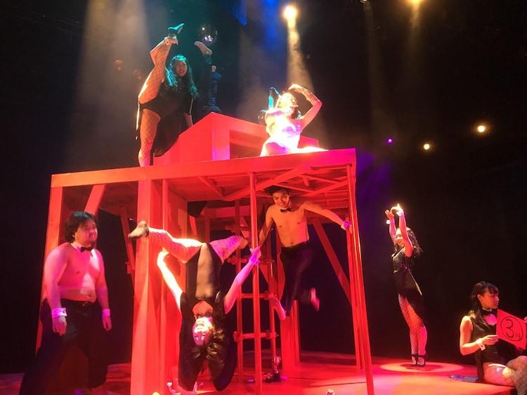 劇団女体盛り 第3回公演「結婚式」より。