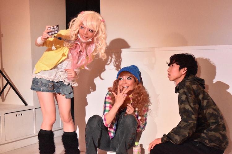 劇団女体盛り 第6回公演「吐露」より。