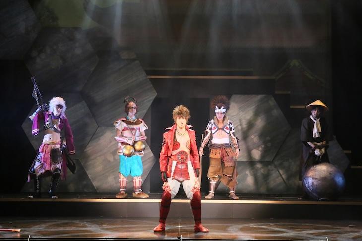 「斬劇『戦国BASARA』蒼紅乱世『紅』未来への誇り」より。