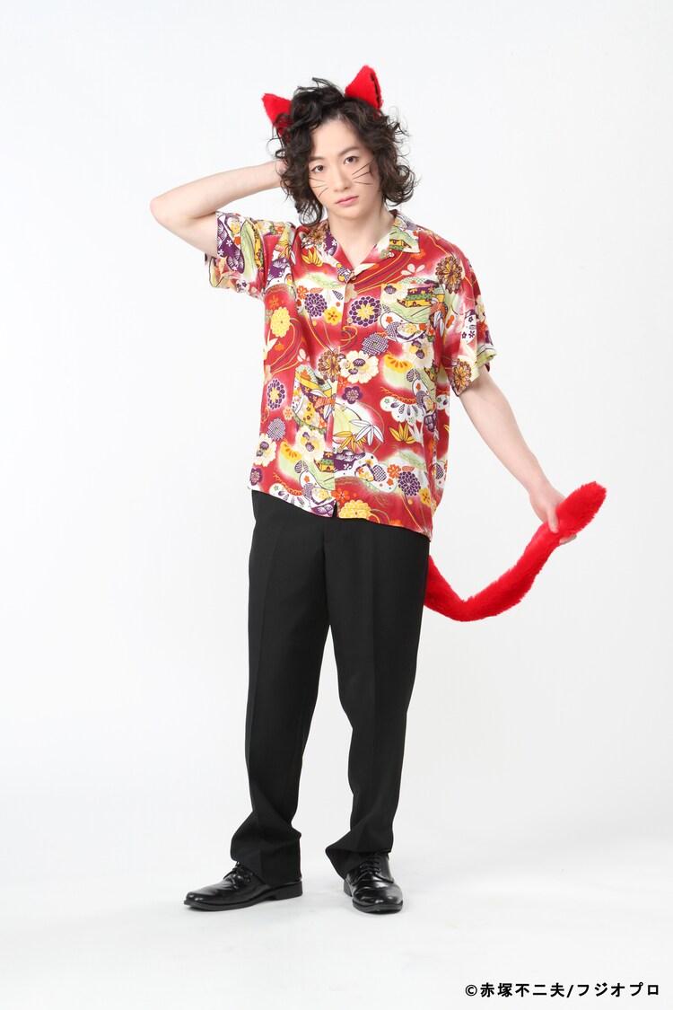 吉田翔吾扮するネコ吉。