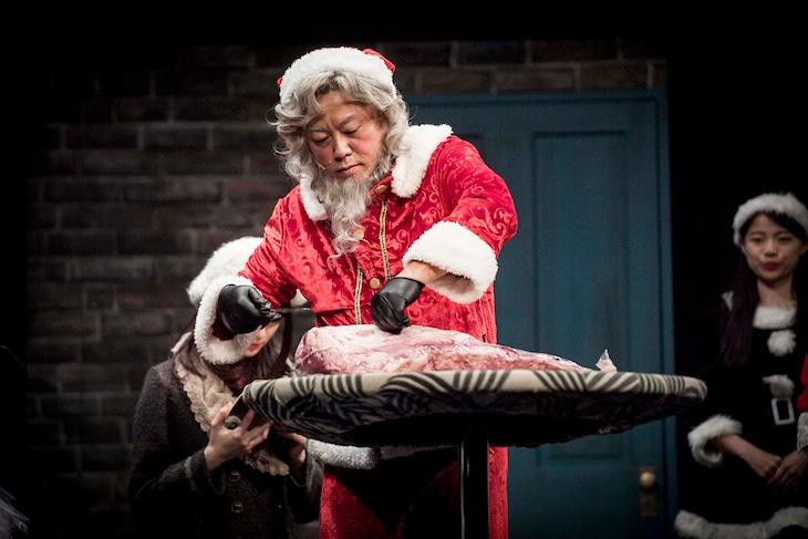 ミュージカル「クリスマスキャロル」ゲネプロより。
