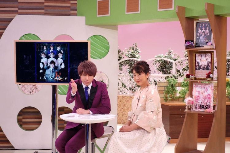 「ゴールデンボンバー・歌広場淳のミュージカル広場」より。(c)関西テレビ
