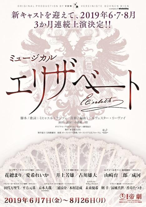 ミュージカル「エリザベート」ビジュアル