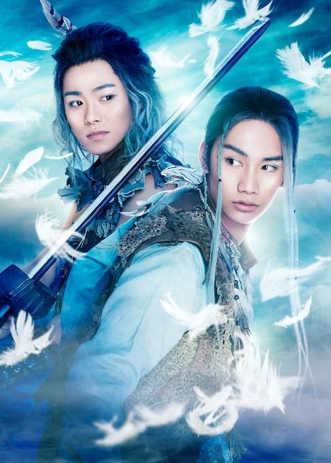 ミュージカル「リューン~風の魔法と滅びの剣~」ビジュアル