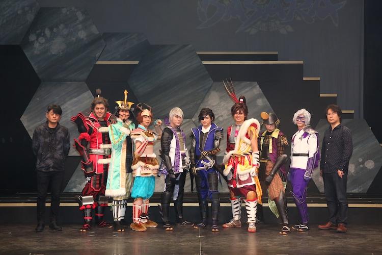 「斬劇『戦国BASARA』蒼紅乱世『蒼』THE PRIDE」初日挨拶より。