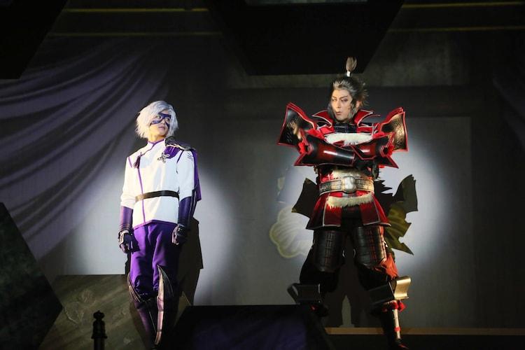 「斬劇『戦国BASARA』蒼紅乱世『蒼』THE PRIDE」より。