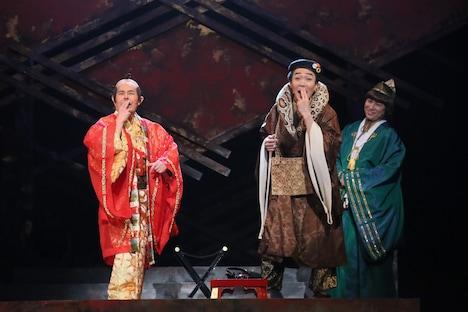 「歳が暮れ・るYO 明治座大合戦祭」公開舞台稽古より。(撮影:宮川舞子)