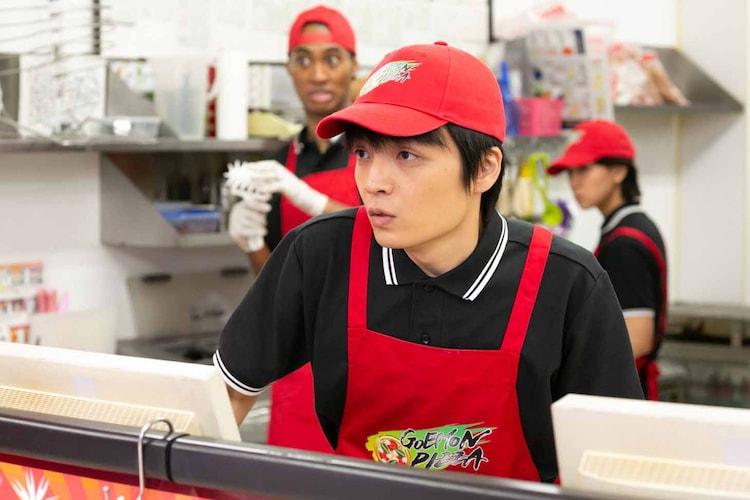 ペヤンヌマキ作「斬る女」より、岡山天音。(写真提供:NHK)