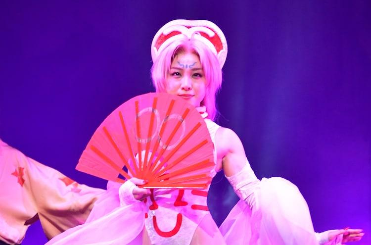 石田安奈演じる妲己。