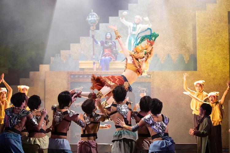 「Fate/Grand Order THE STAGE -絶対魔獣戦線バビロニア-」東京公演のゲネプロより。