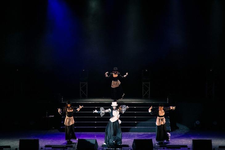 「東京ゲゲゲイ歌劇団」北京公演((独)国際交流基金主催)より。(Photo byXiaobei)