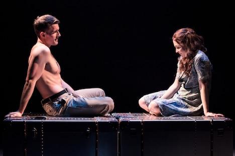 ミュージカル「VIOLET」ロンドン公演より。(Photo by Scott Rylander)